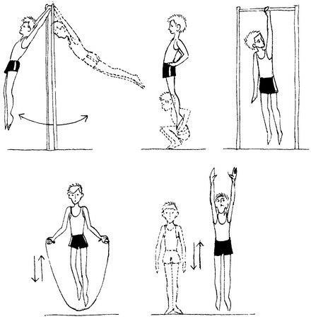 Как увеличить рост подростка: упражнения для роста для подростков и питание