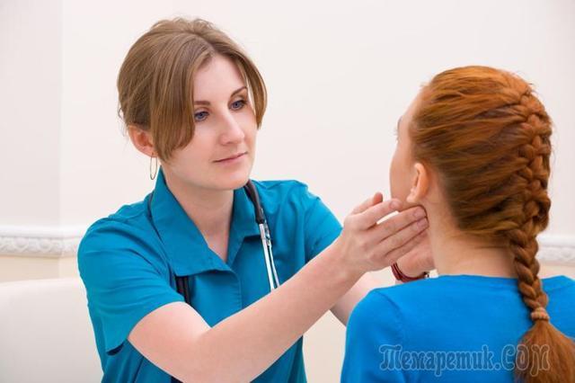 При лечении лимфоузла поднялась температура, с чем это связано?