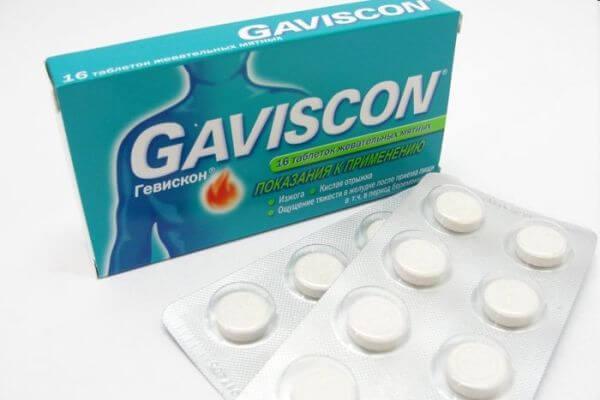 Таблетки Гевискон: инструкция по применению, от чего они помогают, аналоги
