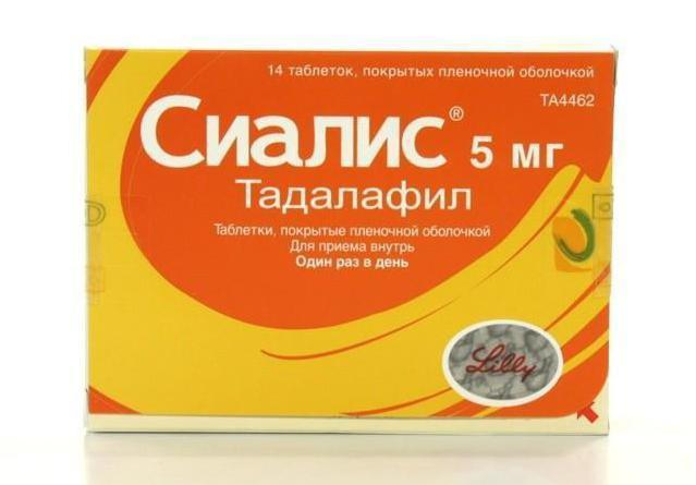 Сиалис: инструкция по применению таблеток, аналоги, побочные явления