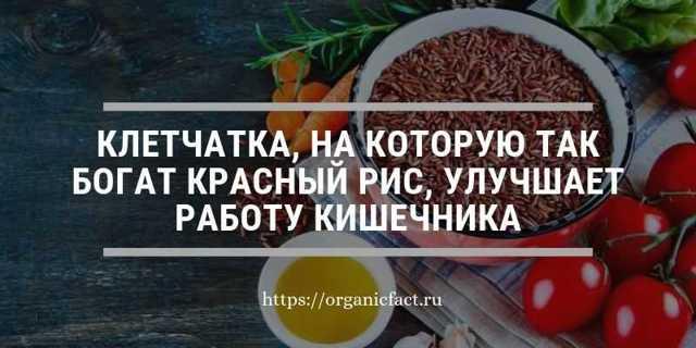 Полезные свойства красного риса, химический состав и правила приготовления.